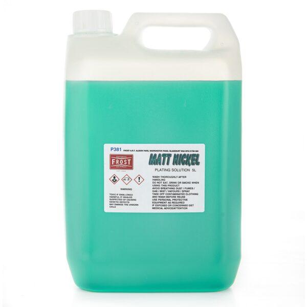 Matt Nickel Plating Solution (5 litres)