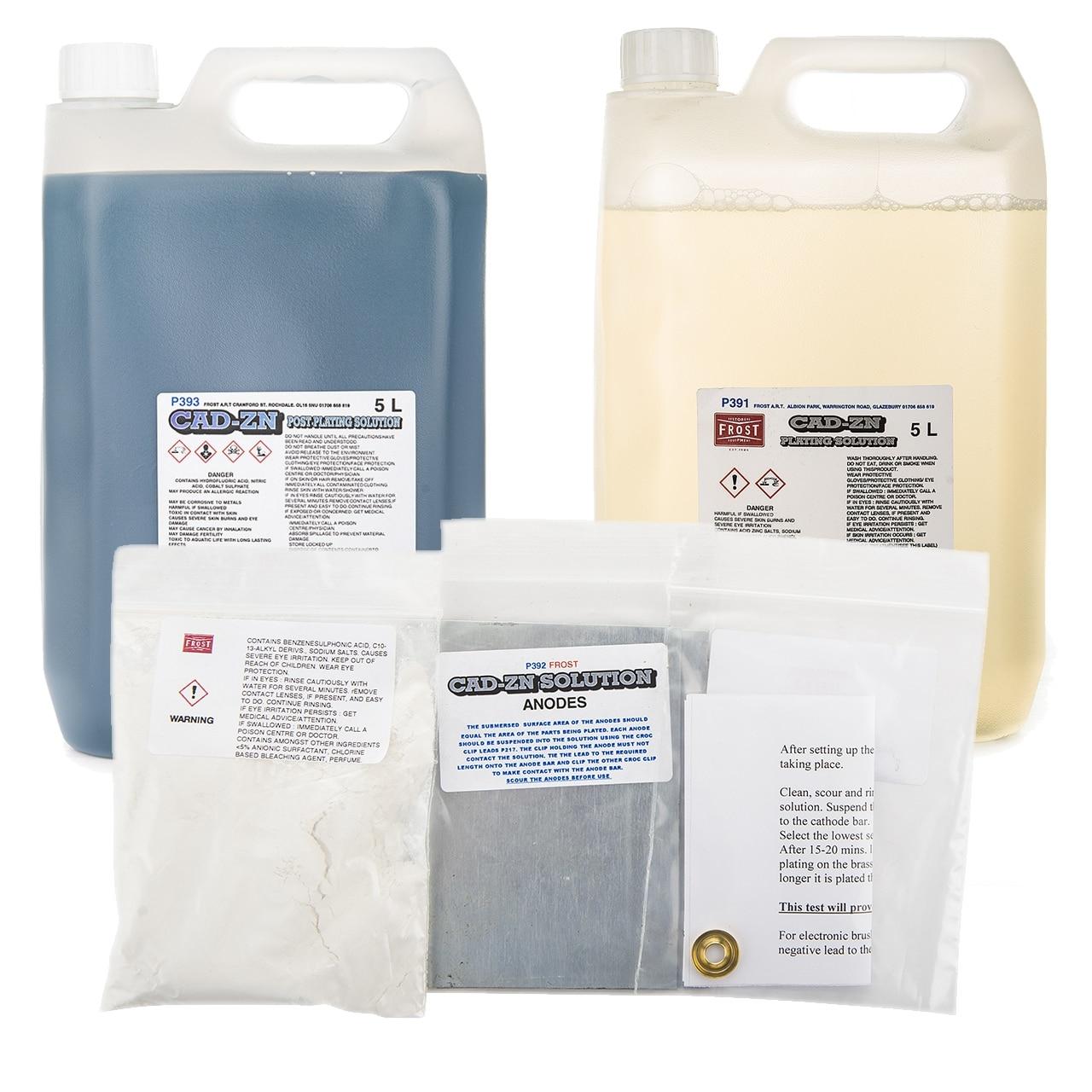 Cadmium Zinc Plating (10 litres)