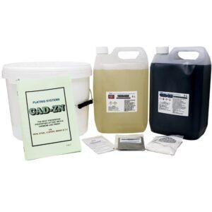 Cadmium-Zinc Plating (5 litres)