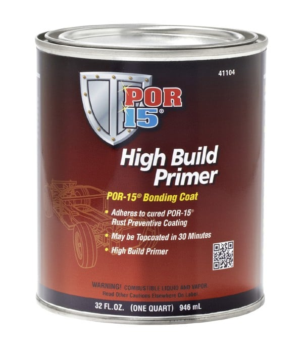 POR15 High Build Primer (Tie Coat Primer) Bonding Paint US Quart (946ml)