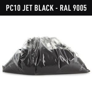 Frost Jet Black Hotcoat Powder Coating (1kg)