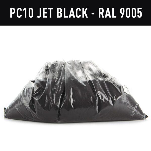Frost Jet Black Hotcoat Powder Coating (1kg)