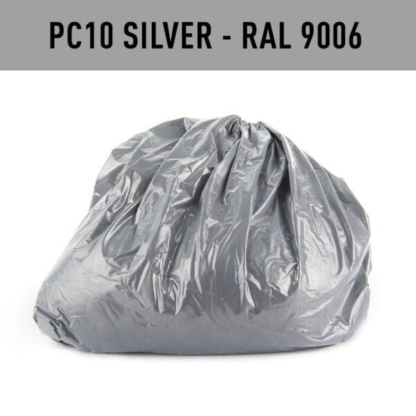 Silver Hotcoat Powder Coating