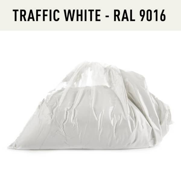 Traffic White Hotcoat Powder Coating