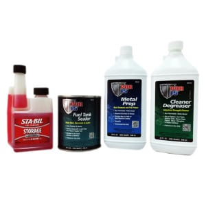 POR15 Deluxe Big Fuel Car Tank Repair Sealer Kit-0