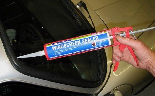 Black Windscreen Sealer