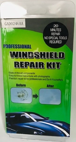 Windscreen Glass Chip Repair Kit - Windshield Saver-0