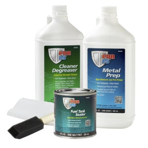 POR15 Motorcycle Fuel Bike Tank Repair Sealer Kit-0