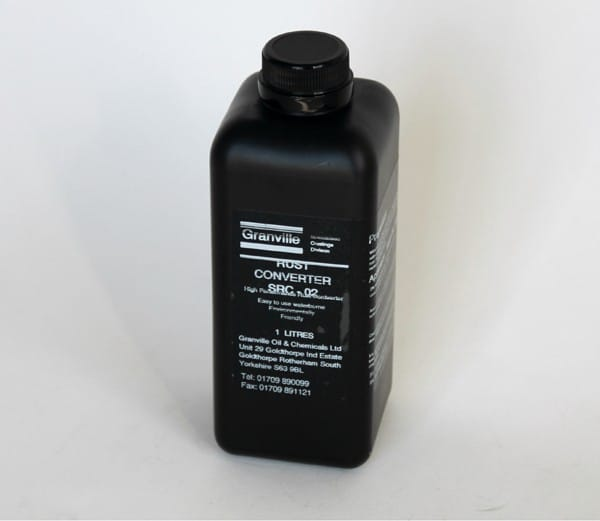 Granville Rust Cure - Heavy Duty Rust Converter (1 litre)