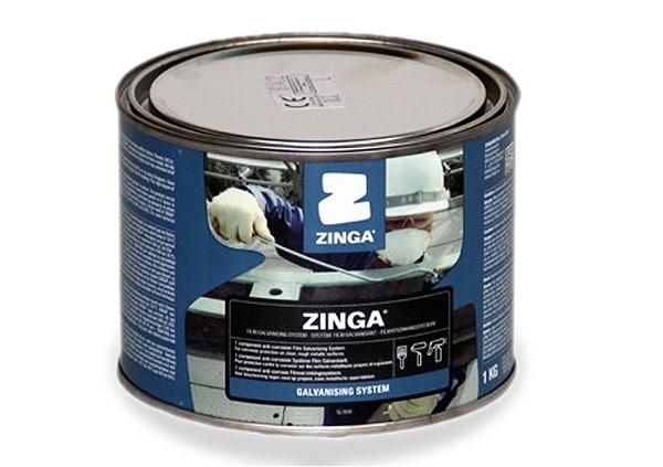Zinga Cold Galvanising System - Anti-corrosion Zinc Coating (1kg)