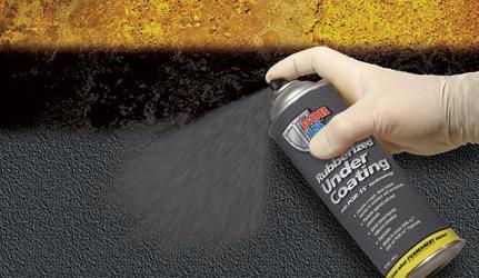 POR15 Rubberised Undercoating Spray (502ml)