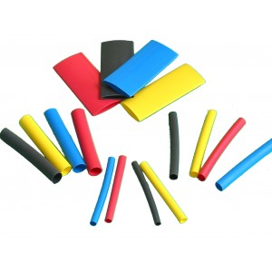 Heat Shrink Tubing (160 pieces)
