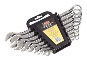 Whitworth Spanners (Set of 8)