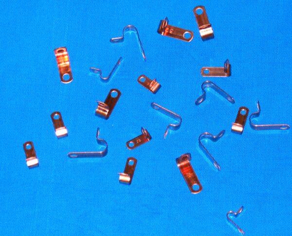 Copper P-Clips (40 pieces)