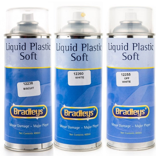 Interior Liquid Plastic Paint Soft Leather/Vinyl Coat Aerosol (400ml)