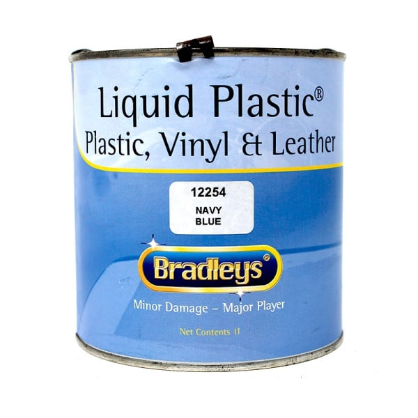 Interior Liquid Plastic Paint Soft Leather/Vinyl Coat - NAVY BLUE (1L)