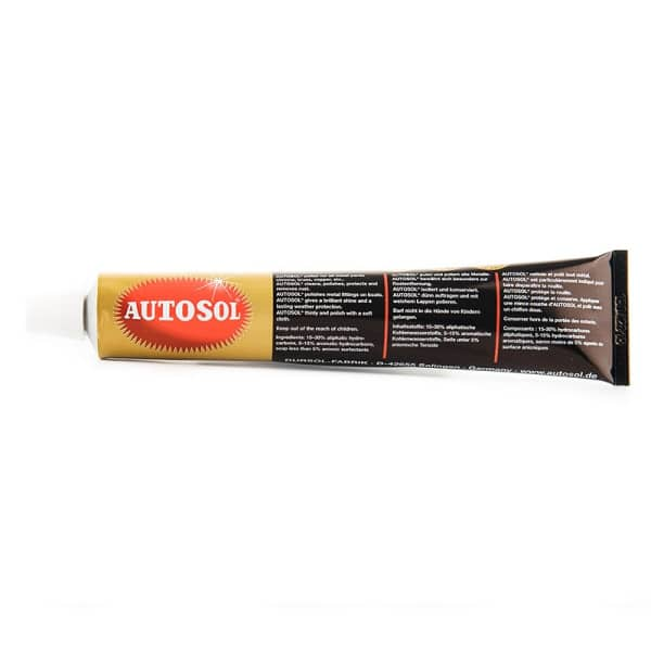 Autosol Metal Polish - Chrome, Aluminium and Metal Polish (100g)