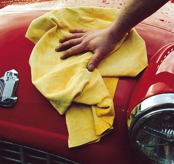 Untrimmed Chamois Leather Wipe / Car Shammy Cloth