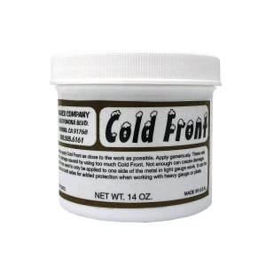 Cold Front Heat Stop Putty Paste for Welding, Brazing, Soldering 14oz (414ml)