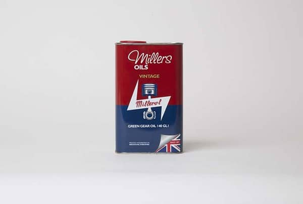 Millers Oils Vintage Green Gear Oil 140 - GL1 (1L)