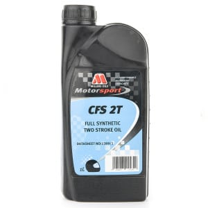 Millers Oils Competition Full Synthetic 2 Stroke Engine Oil (CFS - 1 litre)