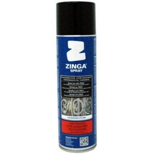 Zinga Cold Galvanising System - Anti-corrosion Zinc Coating Aerosol (500ml)