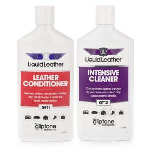 Both Gliptone Leather Cleaner and Conditioner