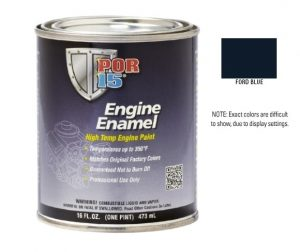 POR15 Ford Blue Engine Enamel Paint (473ml)-0