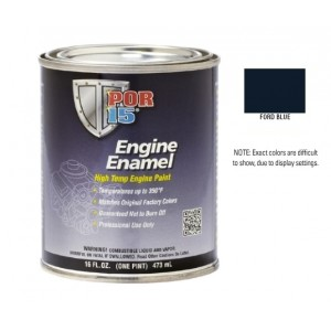 POR15 Ford Blue Engine Enamel Paint (473ml)-0