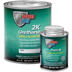 POR15 2K Urethane CLEAR - Two Component Coating (aka Glisten PC) (US Quart, 946ml)