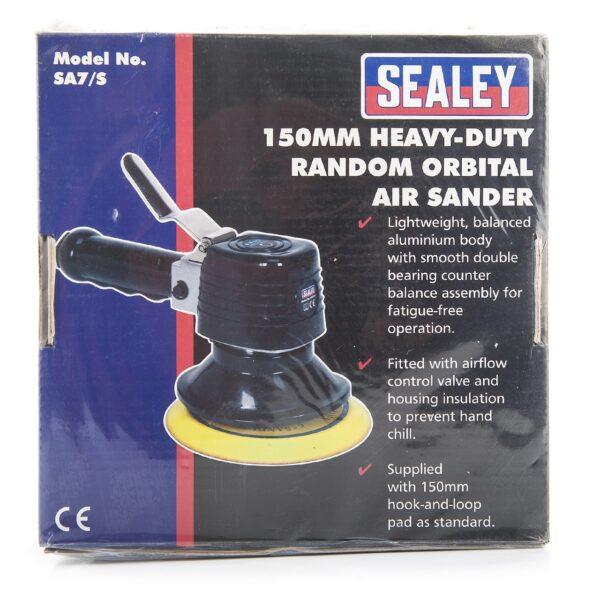 Sealey Air Sander Ø150mm Random Orbital