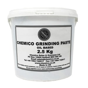 Chemico Medium 120 Grit Grinding Paste (2.5kg)