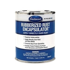 Eastwood Rubberised Rust Encapsulator Undercoating 946ml (US Quart) 11864