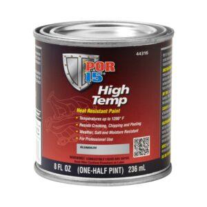 POR15 High Temperature Aluminium Heat Resistant Paint