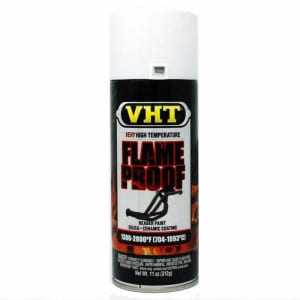 VHT Very High Temperature Flat White Flame Proof Paint (312g)