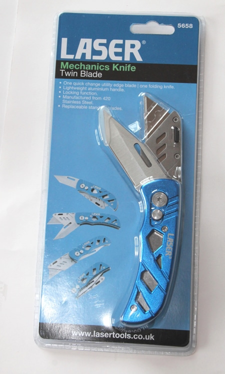 Twin Blade Mechanics Knife-7559