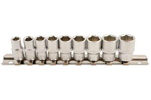 Lase 5691 1/4-inch Drive AF Socket Set (9pc)