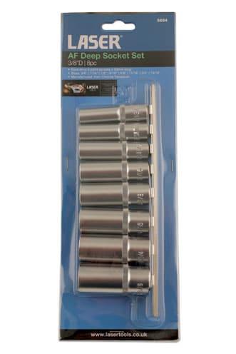 3/8inch Drive AF Deep Socket Set (8pc)-7551