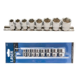 Laser 3/8inch Drive AF Socket Set (8pc) 5693