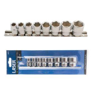 Laser 3/8inch Drive AF Socket Set (8pc) 5693
