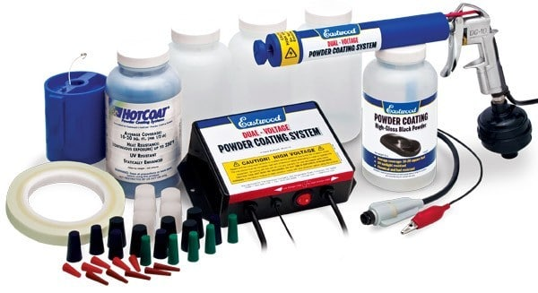 Eastwood Hotcoat Dual-Voltage Powder Coating Gun Starter Kit