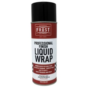 Frost Liquid Wrap Matt Blue Rubber Coating Aerosol (400ml)