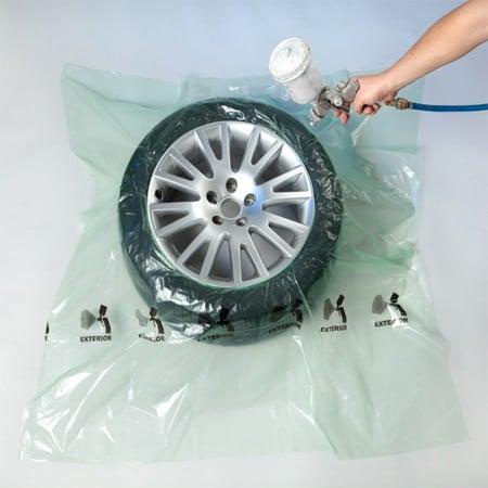 Alloy Wheel Spray / Repair Tyre Mask 140cm x 140cm