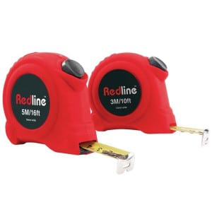 Redline Tape Measure Set 3M & 5M