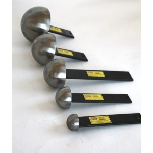 Set of 5 Mushroom Stakes - Metal Forming Dolly