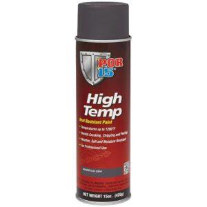 POR15 High Temp Manifold Grey Heat Resistant Paint Aerosol