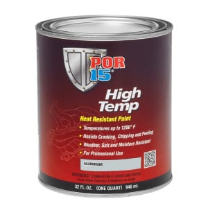 POR15 High Temp Aluminium Heat Resistant Paint