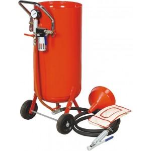 20 Gallon Roll about Pressure Abrasive Sandblaster -0