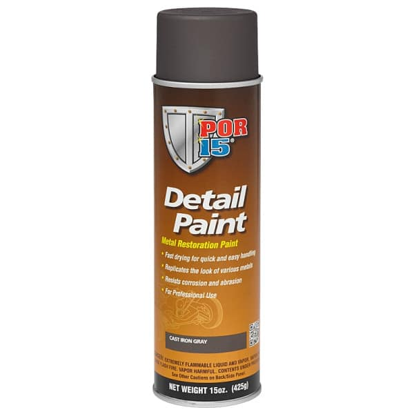 POR15 Detail Paint Aerosol - Cast Iron (425gm)