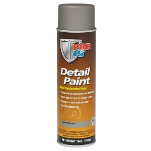 POR15 Detail Paint Aerosol - Stainless Steel (425gm)